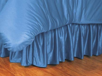 North Carolina Tar Heels Coordinating Queen Bedskirt for the Locker Room or Sidelines Collection by Kentex