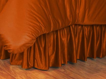 Texas Longhorns Coordinating Full Bedskirt for the Locker Room or Sidelines Collection by Kentex