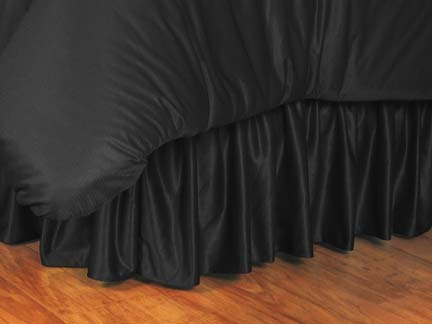 New Orleans Saints Coordinating Full Bedskirt for the Locker Room or Sidelines Collection by Kentex