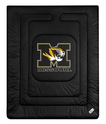 """Missouri Tigers Jersey Mesh Twin Comforter from """"The Locker Room Collection"""" by Kentex"""
