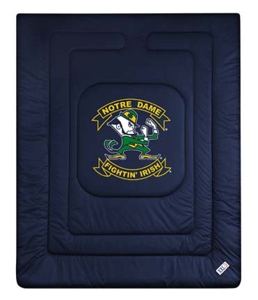 Notre Dame Fighting Irish Jersey Mesh Twin Comforter from 'The Locker Room Collection' by Kentex