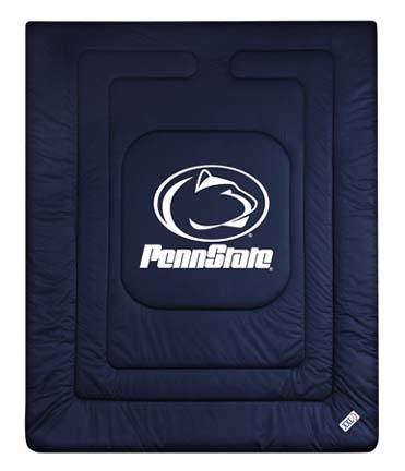 Penn State Nittany Lions Jersey Mesh Full/Queen Comforter from 'The Locker Room Collection' by Kentex