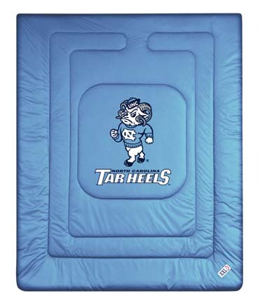 North Carolina Tar Heels Jersey Mesh Twin Comforter from 'The Locker Room Collection' by Kentex