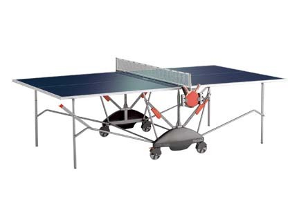 Match 5.0 Indoor Table Tennis Table (Blue) by Kettler