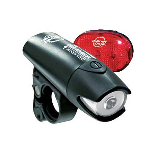 Click here for Planet Bike LED Bicycle Light Set - Beamer 1 and B... prices