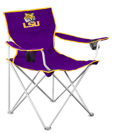 Louisiana State (LSU) Tigers Deluxe Tailgate Chair LCC-162-12