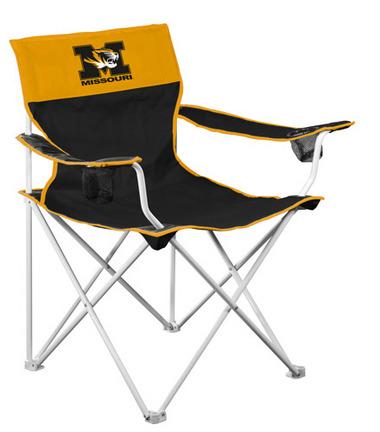 """Missouri Tigers """"""""Big Boy"""""""" Tailgate Chair"""" LCC-178-11"""