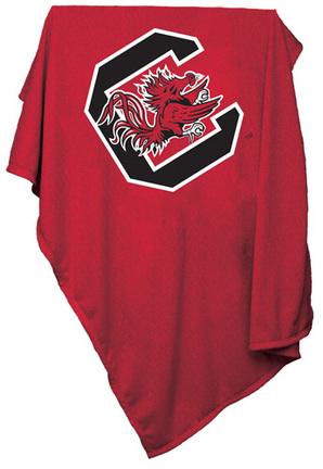 "South Carolina Gamecocks 84"" x 54"" Sweatshirt Blanket / Throw"