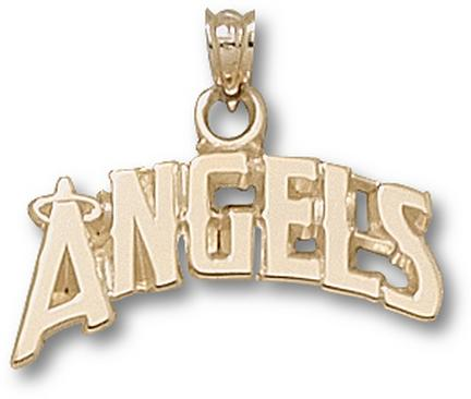 Angels pendant los angeles angels pendant angels for Media jewelry los angeles
