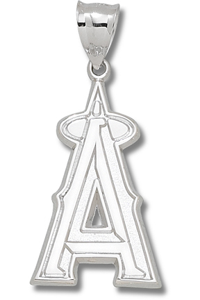 Los Angeles Angels Of Anaheim 1 1/2 Giant A Pendant Sterling Silver Jewelry