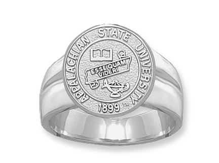Appalachian State Mountaineers Seal Pendant Sterling Silver Jewelry