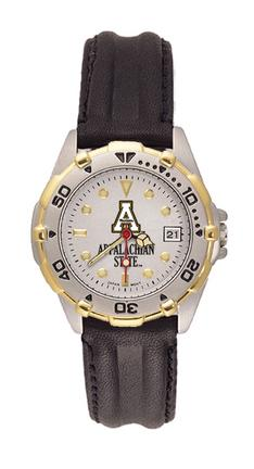 Appalachian State Mountaineers Women's All Star Watch with Leather Band from Hana Time