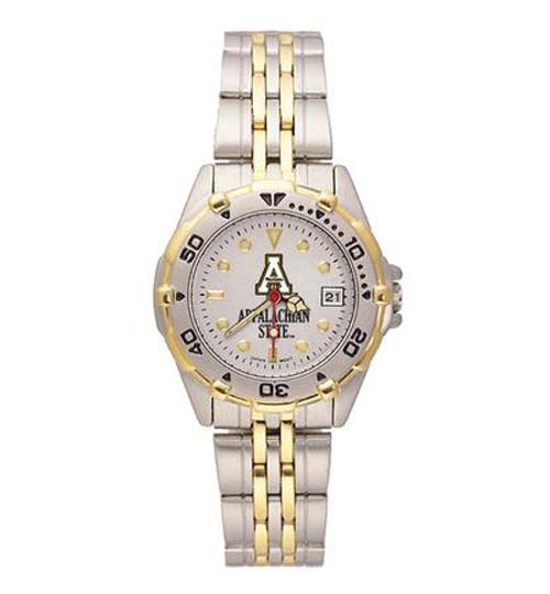 Appalachian State Mountaineers Women's All Star Watch with Bracelet Strap