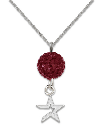 Houston Astros Ovation Crystal Necklace