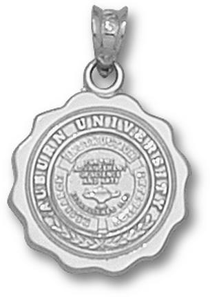 "Auburn Tigers ""Seal"" Pendant - Sterling Silver Jewelry"