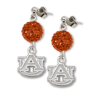 Auburn Tigers Ovation Crystal Earrings