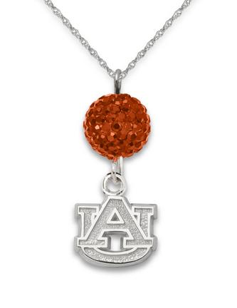 Auburn Tigers Ovation Crystal Necklace