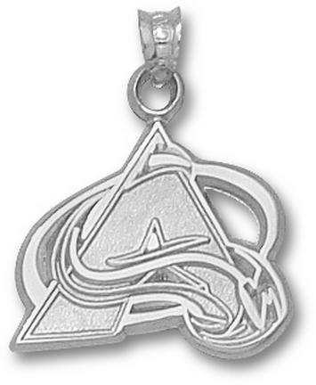 Colorado Avalanche A Logo 5/8 Pendant Sterling Silver Jewelry
