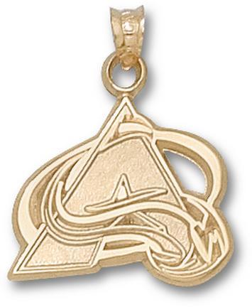 """Colorado Avalanche 5/8"""" """"A"""" Logo Lapel Pin - Sterling Silver Jewelry"""