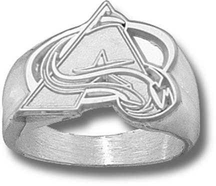Colorado Avalanche A Logo 58 Mens Ring Size 10 12  14KT Gold Jewelry