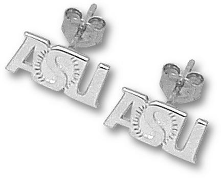 Sunburst | Sterling | Jewelry | Arizona | Earring | Silver | Devil | State | Post | Sun