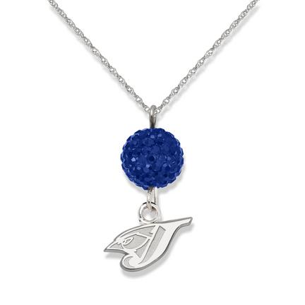 Toronto Blue Jays Ovation Crystal Necklace