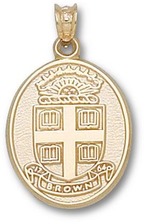 "Brown Bears """"Seal"""" Pendant - 14KT Gold Jewelry"" LGA-BRU003-G"