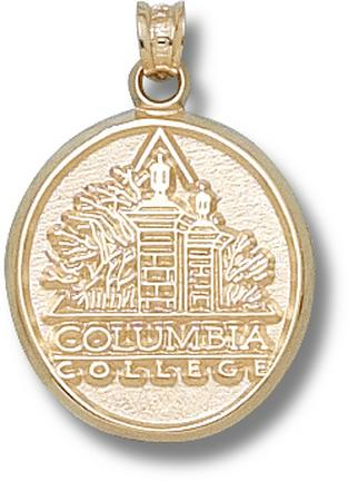"""Columbia College Cougars 5/8"""" Logo Lapel Pin - 10KT Gold Jewelry"""