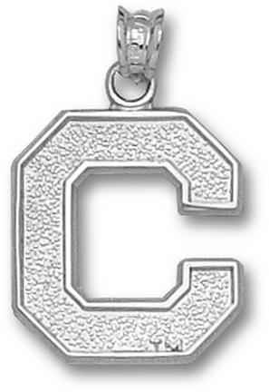 Cornell Big Red Bears C Pendant - Sterling Silver Jewelry