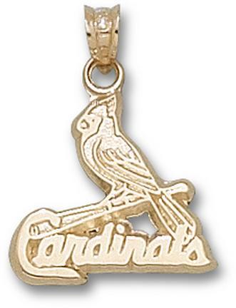"St. Louis Cardinals 9/16"" Logo Lapel Pin - 10KT Gold Jewelry"