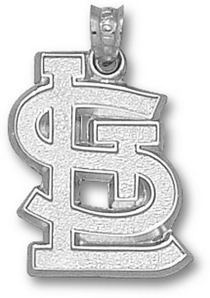 St. Louis Cardinals STL 3/4in Pendant - Sterling Silver Jewelry