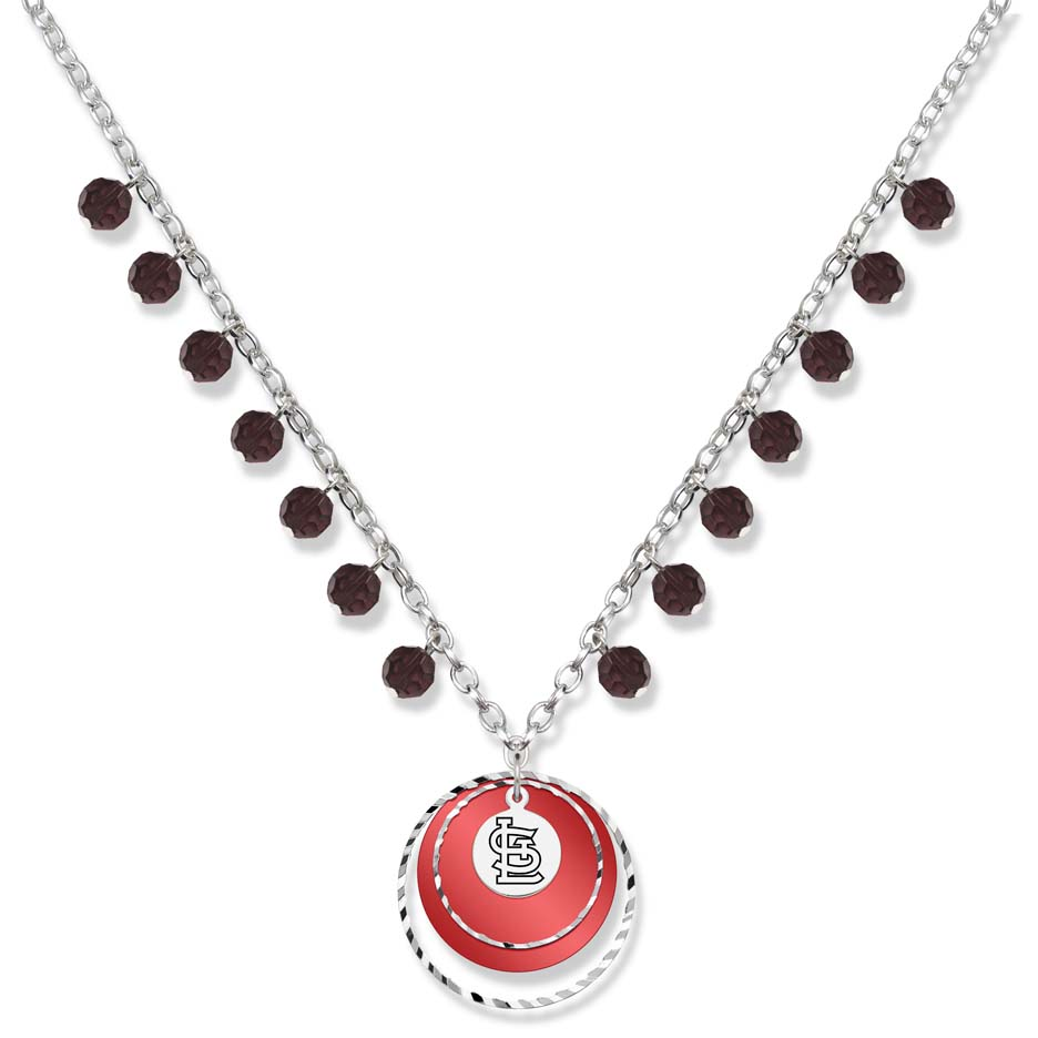 St. Louis Cardinals Game Day Necklace LGA-CRD068N-CR