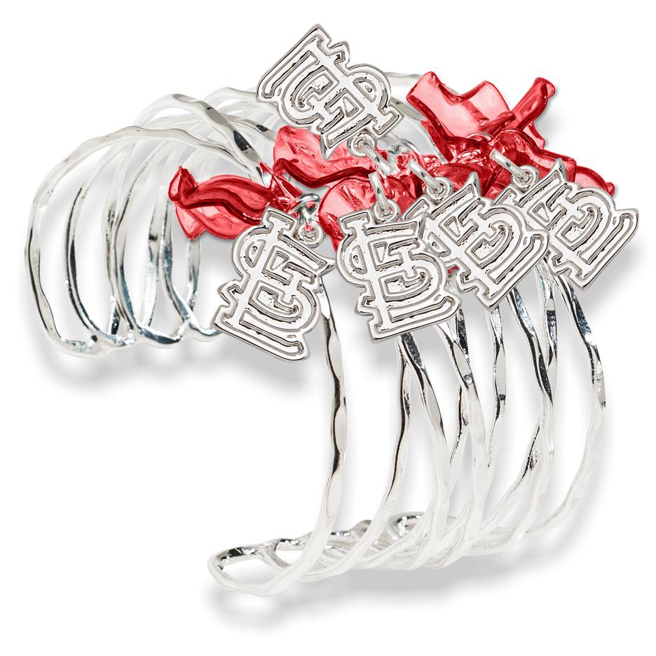 St. Louis Cardinals Celebration Cuff Bracelet