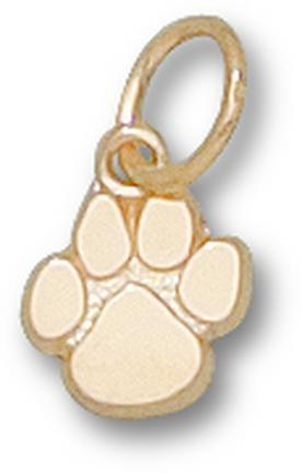 "Clemson Tigers ""Paw"" 3/8"" Lapel Pin - 14KT Gold Jewelry"