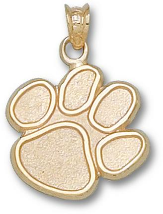 "Clemson Tigers ""Paw"" 5/8"" Lapel Pin - 10KT Gold Jewelry"