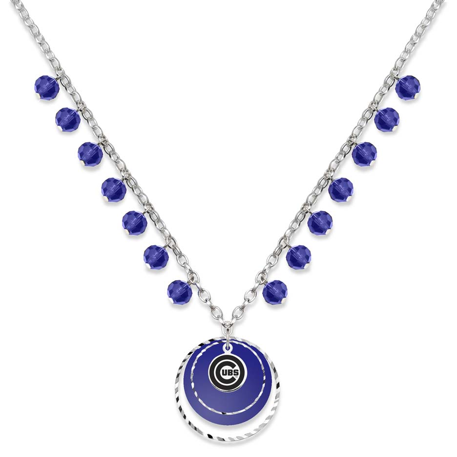 Chicago Cubs Game Day Necklace LGA-CUB068N-CR