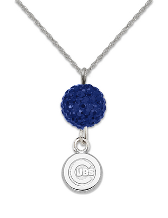 Chicago Cubs Ovation Crystal Necklace