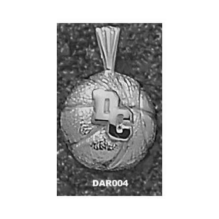Darton College Cavaliers Dc Basketball Pendant Sterling Silver Jewelry
