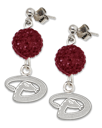 Arizona Diamondbacks Ovation Crystal Earrings