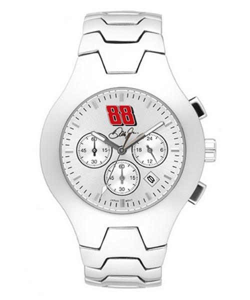 Dale Earnhardt Jr. #88 NASCAR Men's Hall of Fame Watch with Stainless Steel Bracelet