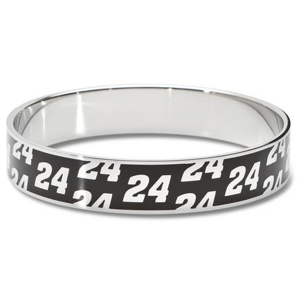 "Jeff Gordon Driver Number ""24"" Enamel Stainless Steel Bracelet"