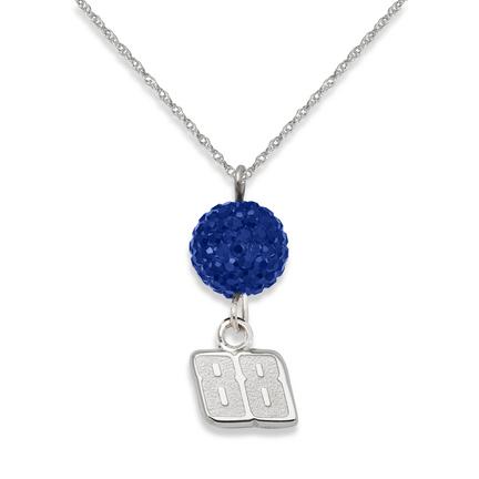 Dale Earnhardt Jr. #88 Ovation Crystal Necklace
