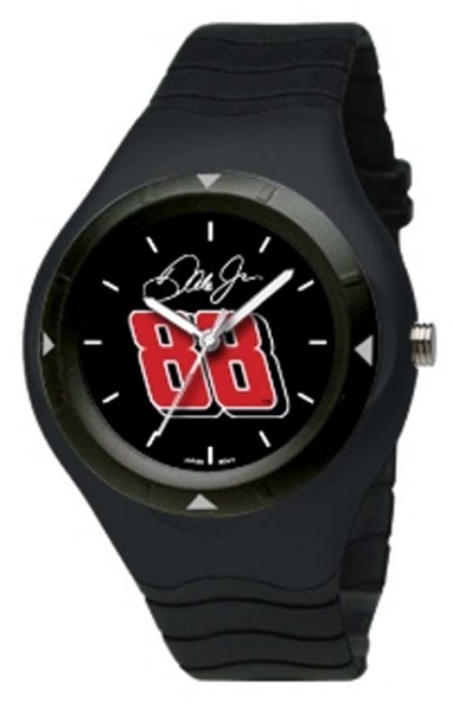 Dale Earnhardt Jr. #88 Prospect Watch with Black Case, Dial and Strap