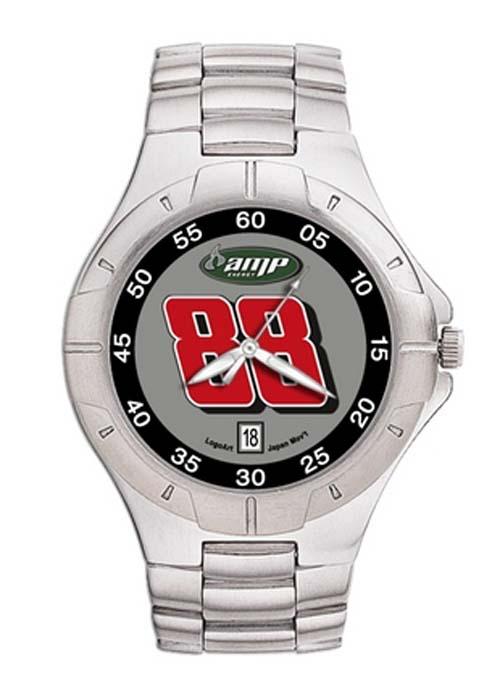 Dale Earnhardt Jr. #88 AMP Men's Pro II Watch with Stainless Steel Bracelet