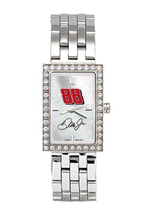 Dale Earnhardt Jr. #88 Women's Allure Watch with Stainless Steel Bracelet