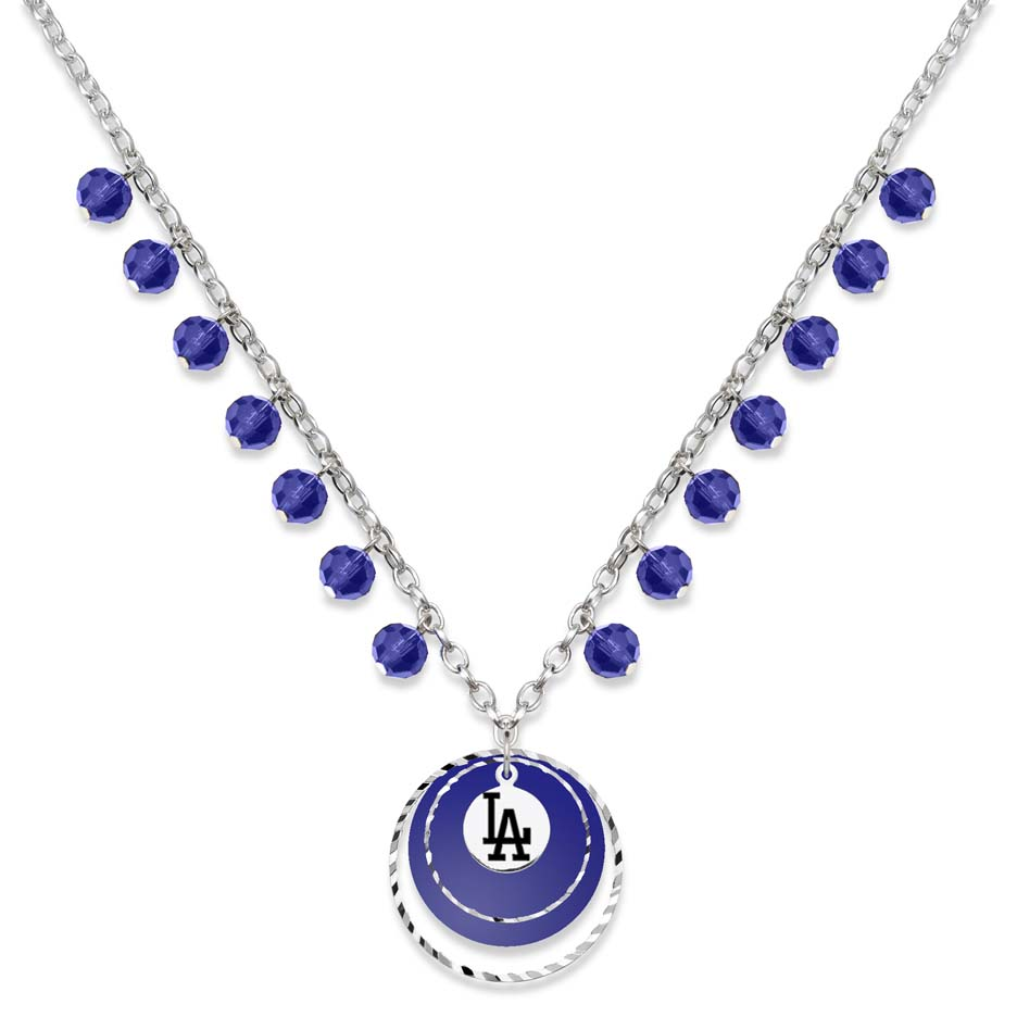 Los Angeles Dodgers Game Day Necklace