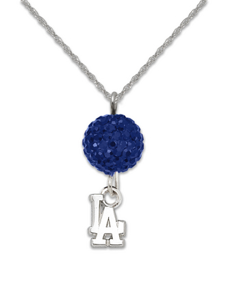 Los Angeles Dodgers Ovation Crystal Necklace