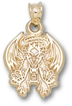 Drexel Dragons Dragon Pendant - 14KT Gold Jewelry