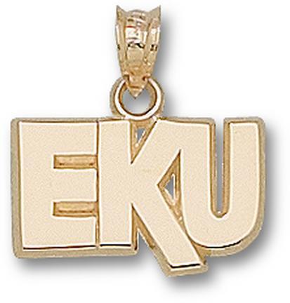 """""""Eastern Kentucky Colonels """"""""EKU"""""""" 3/8"""""""" Lapel Pin - Sterling Silver Jewelry"""""""