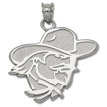 Eastern Kentucky Colonels 3/4 Colonel Pendant Sterling Silver Jewelry